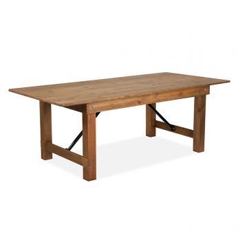 Farmhouse Trestle Table Alloyfold Commercial Seating